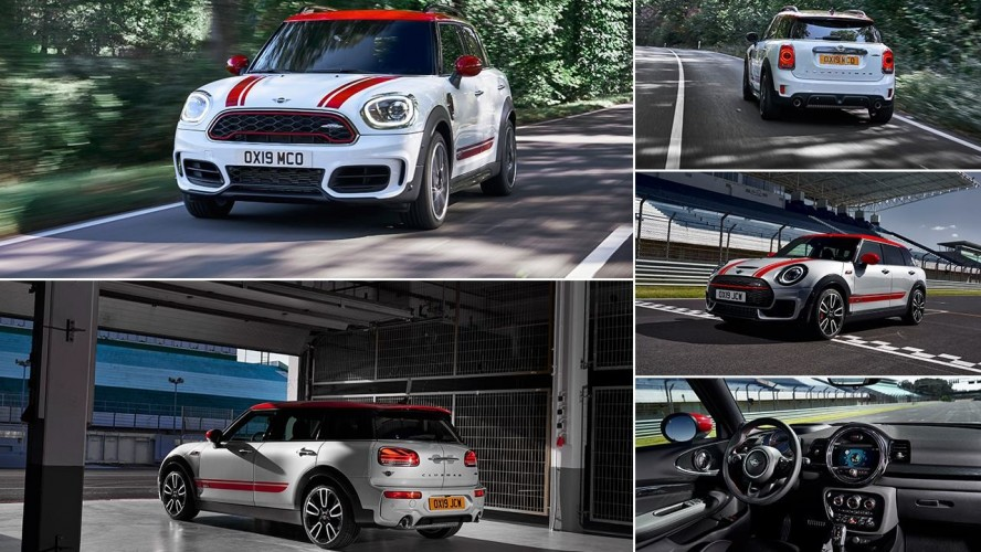 НОВЫЕ MINI JCW CLUBMAN И MINI JCW COUNTRYMAN.